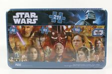 Star Wars 3 in 1 Panoramic Jigsaw Puzzle 211 Pieces By Cardinal