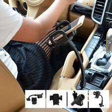 Dual USB Cigarette Lighter Socket Car Phone Mount Holder Cell Phone Charger Port