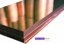 "Copper Sheet .027"" Thick - 20oz - 22 Ga - 24""x120"" - FREE 48 STATE SHIPPING"