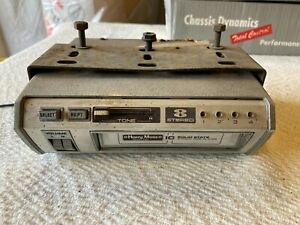 VINTAGE HARRY MOSS  8-TRACK CAR STEREO TAPE PLAYER