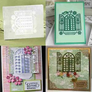 Die Cuts Window Metal Cutting Die Scrapbooking Album Embossing Card Making Craft