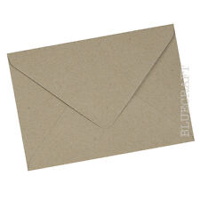 50 x C5 Brown Fleck Kraft Recycled Envelopes
