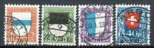 Schweiz 175-178 Pro Juventute 1922 komplett gestempelt