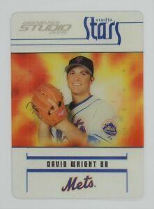 2005 Studio Stars David Wright #41 New York Mets