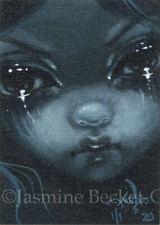 Tiny Treasure 161 ACEO Jasmine Becket-Griffith big eyes art blue fairy fantasy