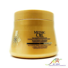 L'Oreal Mythic Oil Masque for Normal to Fine Hair 200ml + FREE TRACKED