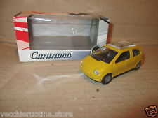 CARARAMA RENAULT TWINGO premier type mk1 civile metal 1/43 model voiture boxed