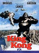 King Kong Dvd 1970's Version Classic Jeff Bridges complete with case + artwork