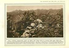 1915 Successful Bayonet Charge Demolition Of Bridges