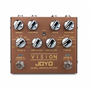 JOYO R-09 Revolution Vision Dual Ch. Stereo Modulation Guitar Effects Pedal