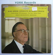 DG 138 866 - KARL BOHM CONDUCTS RICHARD STRAUSS Berlin PO - Ex Con LP Record