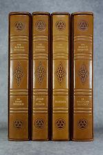 LES ROMANS COURTOIS. ILLUSTRATIONS ORIGINALES DE MICHEL CIRY. 1971. 4 VOLUMES.