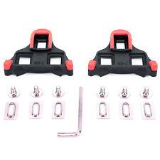 VINQLIQ 6 Degree Cycling Self-locking Plate Pedal Cleat Set Delta SPD-SL Float