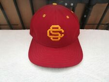 USC NEW ERA RED/YELLOW USC Trojans Baseball cap Hat  SNAPBACK VINTAGE