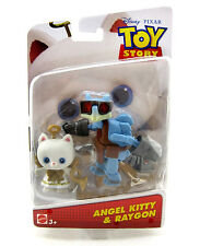TOY STORY THAT TIME FORGOT ANGEL KITTY AND RAYGON  FIGURE SET DISNEY PIXAR