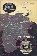 national geographic-SCHOOL BULLETIN-feb 10,1964-VENEZUELA.