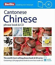 Berlitz Cantonese Chinese Phrase Book & CD (Chinese Edition), Berlitz Publishing