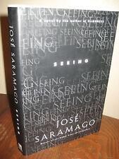1st Edition SEEING Jose Saramago NOBEL PRIZE Fiction FIRST PRINTING