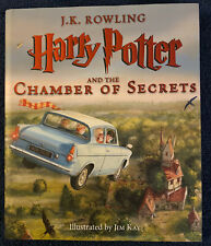 Harry Potter and the Chamber of Secrets Illustrated Edition by J. K. Rowling...