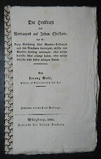 Wolf – Wunder-Heilungen – 1821 – Alexander von Hohenlohe