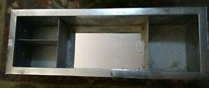 Vintage Galvanized Steel Bathroom Medicine Cabinet Industrial