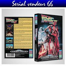 "BOX, CASE ""BACK TO THE FUTURE 3"". Megadrive. BOX + COVER PRINTED. NO GAME. MULTI"