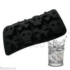 Pirate Skull & Cross Bones Silicone Ice Cube Mold Chocolate Tray Fondant Mould