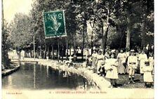 (S-83626) FRANCE - 55 - COUSANCES AUX FORGES CPA LAVEUSES AU BORD DE LA RIVIERE