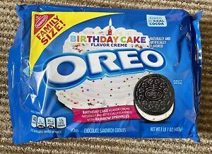 Birthday Cake Flavour Oreos  - USA Import UK Seller