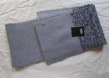 UGG Scarf Marled Knit Sequins Gray Blue NEW $120