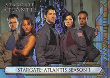 STARGATE ATLANTIS SEASON 1 Promo Card P1