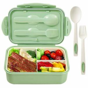 Bento Boxes for Kids Bento Lunch Box 3 Compartments Microwave Safe BPA free