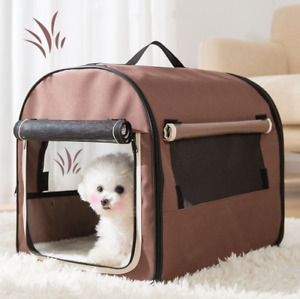 Pet Carrier Dog Cat Portable Travel Cage Foldable Hand Bag Soft Crate Puppy AU