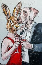 GILLIE AND MARC-direct from the artists- authentic artistic print love together