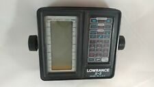 Vintage Lowrance X3 Lcg Recorder, Fish finder, Screen unit only Untested As Is