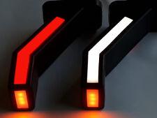 2x LED Stalk Side Marker Light 12V 24V Truck Trailer Position Lamp 12 24 Volt