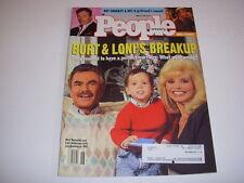 PEOPLE Magazine, June 28, 1993, BURT REYNOLDS, LONI ANDERSON, JURASSIC PARK!