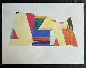 "TOM WESSELMANN - Lithographie HANDSIGNIERT RAR : ""iNTERIOR WITH MONICA"""