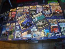 Lot 19 Magazines LAST & KRAFT Ancien Camion Allemand