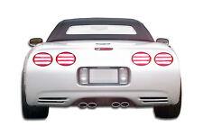 1 Piece Extreme Dimensions Duraflex Replacement for 1984-1990 Chevrolet Corvette C4 LT-R Wing Trunk Lid Spoiler