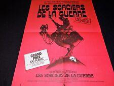 LES SORCIERS DE LA GUERRE wizards affiche cinema bd dessin bakshi 1977 md rose