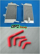 Honda CRF250R CRF250X CRF250 2004-2009 05 06 07 Aluminum radiator + HOSE