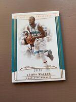 2018-19 Panini - National Treasures Basketball: Kemba Walker #/39