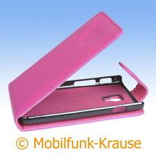 Flip Case étui pochette pour téléphone portable sac housse pour LG p710 Optimus l7 II (rose)