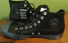 CONVERSE CT HI AS CHUCK TAYLOR ALL STAR LEATHER THERMAL 157514C BLACK/SHARKSKIN