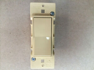 NEW Off White/Beige Quiet Switch Rocker Light Switch Mobile Home Parts