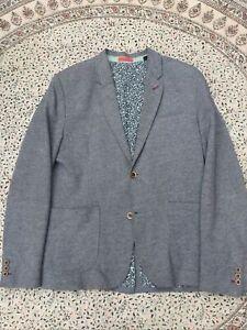 """TED BAKER - Grey Melange - Cotton - Smart Casual - Jacket - Size 4 - 40"""""""