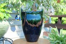 LARGE IRIDESCENT VASE DALE TIFFANY HAND BLOWN ART GLASS