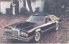 1977 Mercury Cougar XR7 ORIGINAL Factory Postcard my0330