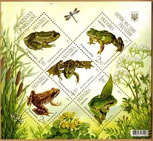 Ukraine 2011 Souvenir Sheet MNH Michel Catalog Block nº 89 *** (1182/86)